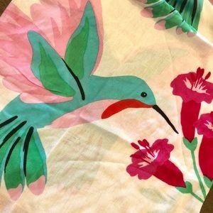 kate spade Accessories - Kate Spade ♠️ hummingbird scarf wrap nwt